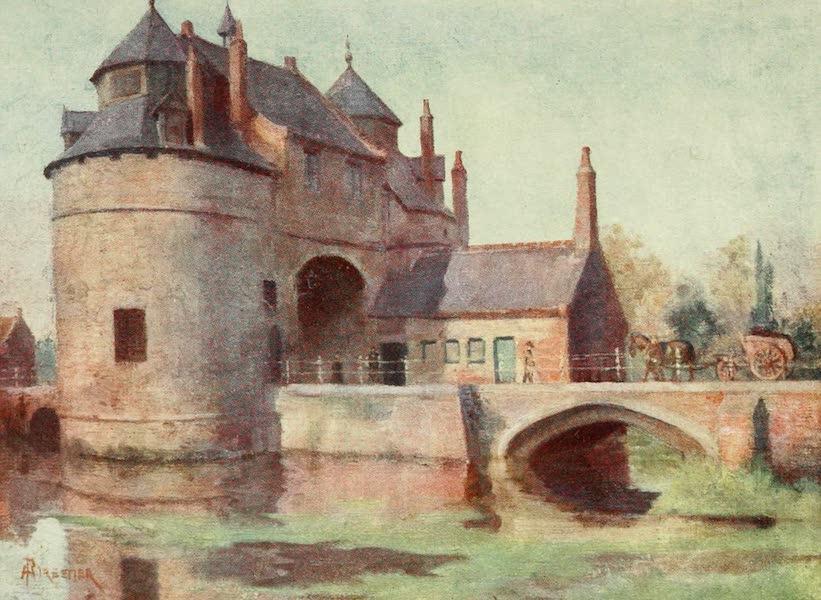 Bruges and West Flanders, Painted and Described - Bruges : Porte d'Ostende (1906)