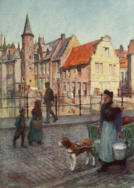 Bruges and West Flanders, Painted and Described - Bruges : Quai du Rosaire (1906)