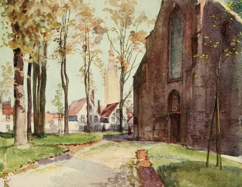 Bruges and West Flanders, Painted and Described - Bruges : The Beguinage (1906)