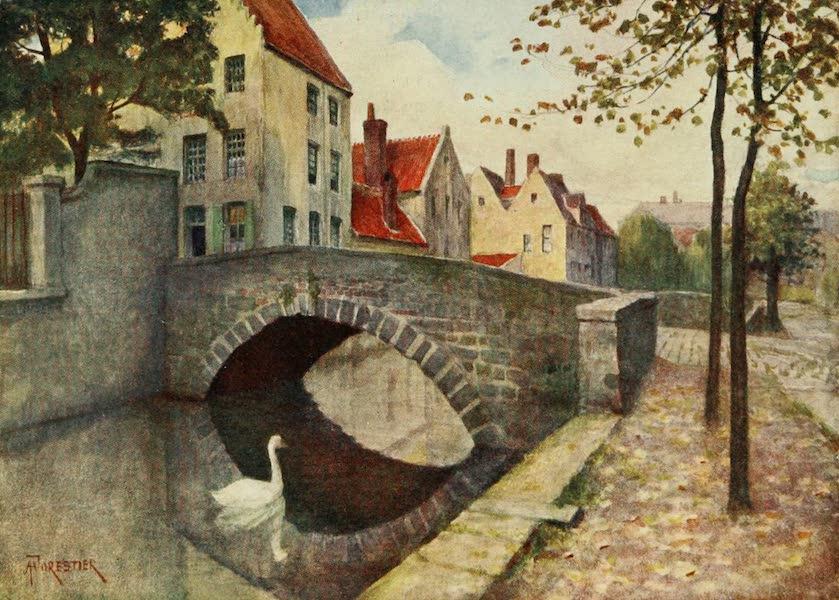 Bruges and West Flanders, Painted and Described - Bruges : Quai des Marbriers (1906)