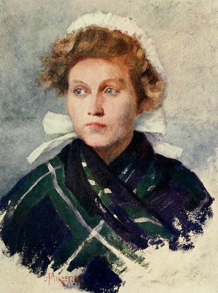 Bruges and West Flanders, Painted and Described - A Flemish Young Woman (1906)