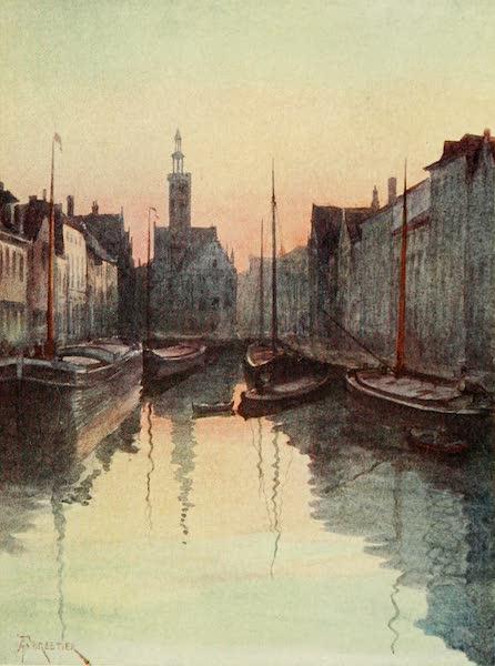Bruges and West Flanders, Painted and Described - Bruges : Quai du Miroir (1906)