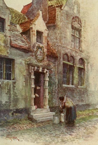 Bruges and West Flanders, Painted and Described - Bruges : Maison du Pélican (Almshouse) (1906)