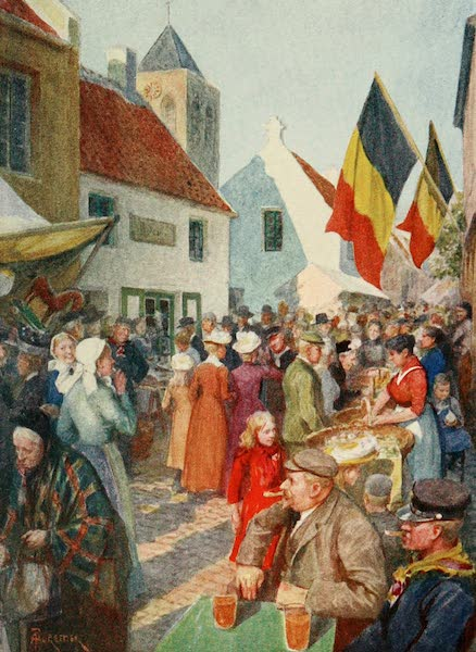 Bruges and West Flanders, Painted and Described - Adinkerque : At the Kermesse (1906)
