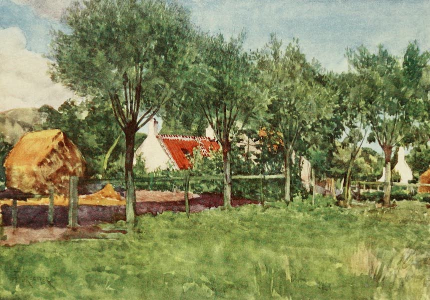 Bruges and West Flanders, Painted and Described - A Farmsteading (1906)
