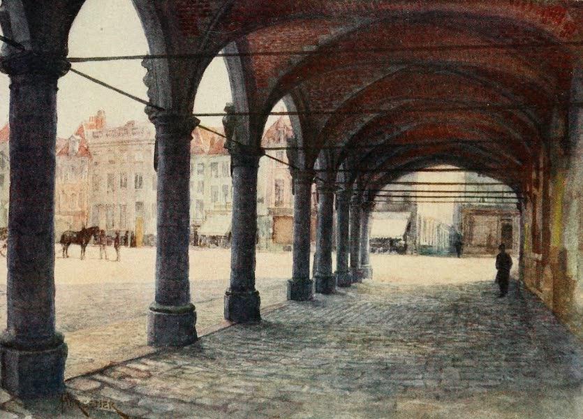 Bruges and West Flanders, Painted and Described - Ypres: Arcade under the Nieuwerk (1906)