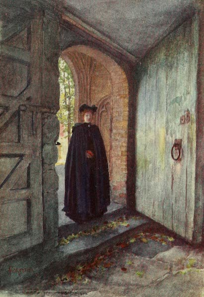 Bruges and West Flanders, Painted and Described - Nieuport : A Fair Parishioner (1906)