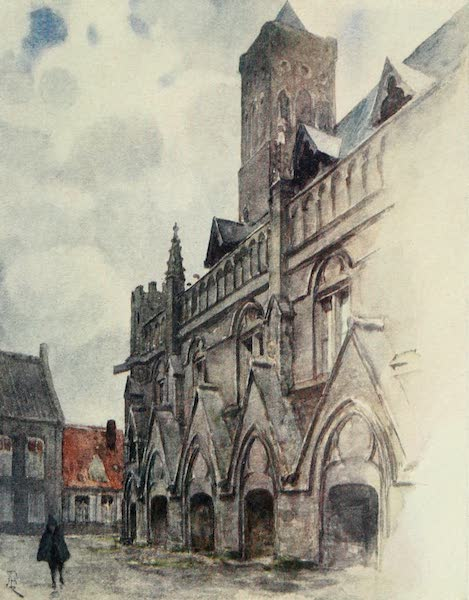 Bruges and West Flanders, Painted and Described - Nieuport : The Town Hall (1906)