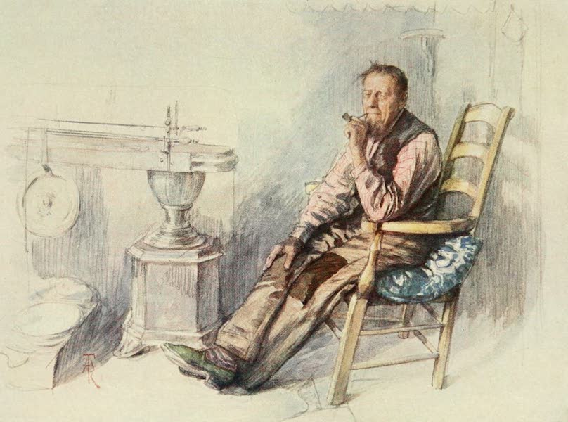 Bruges and West Flanders, Painted and Described - An Old Farmer (1906)