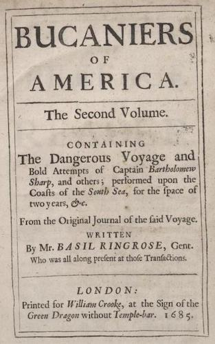 Bucaniers of America Vol. II (1685)