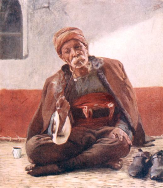 Bulgaria - A Contented Turk (1915)