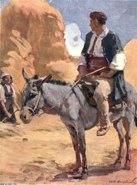 Bulgaria - In the Harvest Fields near Sofia (1915)