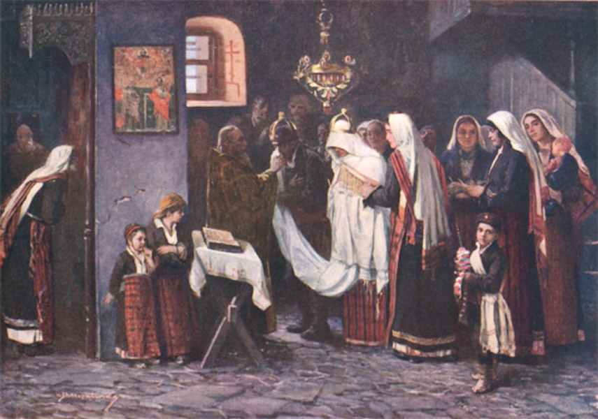 Bulgaria - A Wedding in the Rhodopes (1915)