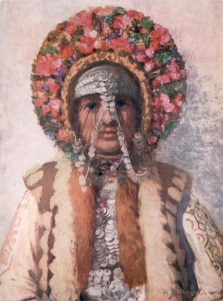 Bulgaria - A Young Married Shôp Woman (1915)