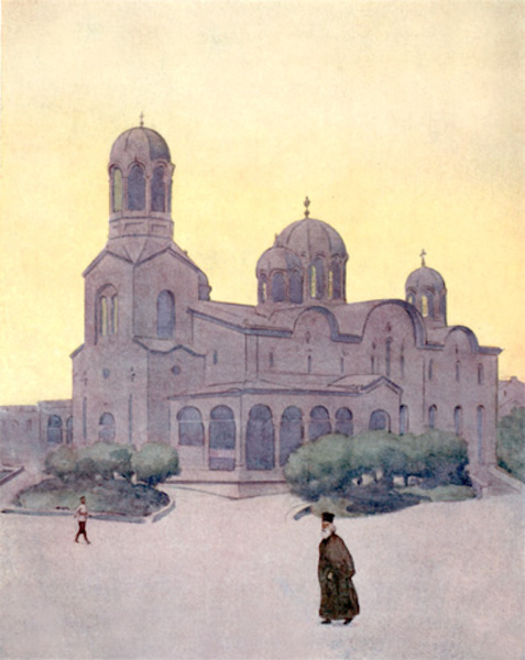 Bulgaria - The Cathedral, Sofia (1915)
