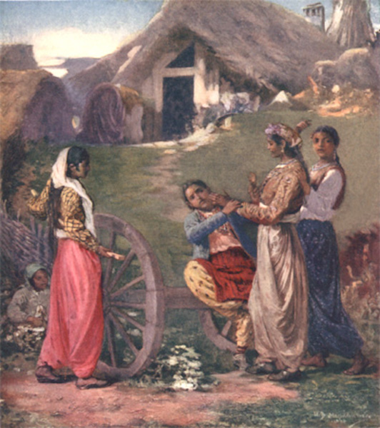 Bulgaria - Gipsies (1915)