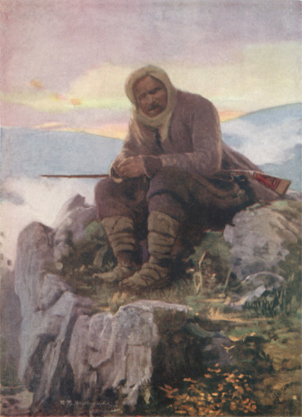 Bulgaria - Guarding the Flocks and Herds (1915)