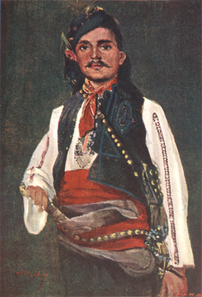 Bulgaria - A Young Man of the Choumla District (1915)