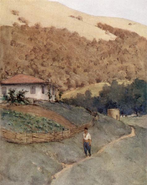 Bulgaria - A Bulgarian Farm (1915)