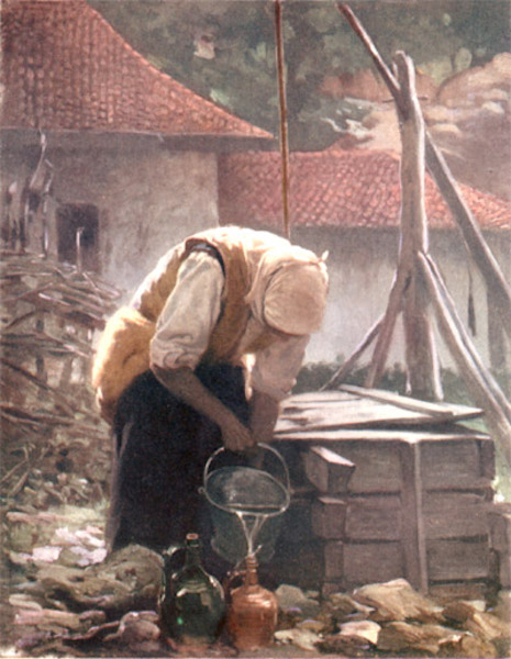 Bulgaria - At the Well (1915)