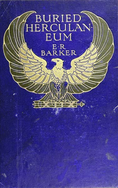 Buried Herculaneum - Front Cover (1908)