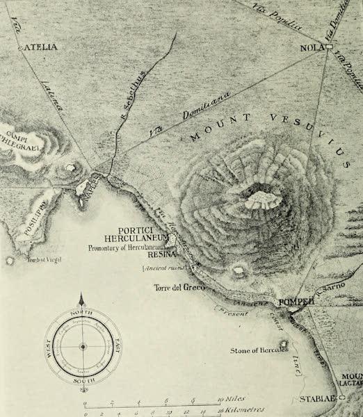 Buried Herculaneum - Plan I. The Campanian coast (1908)