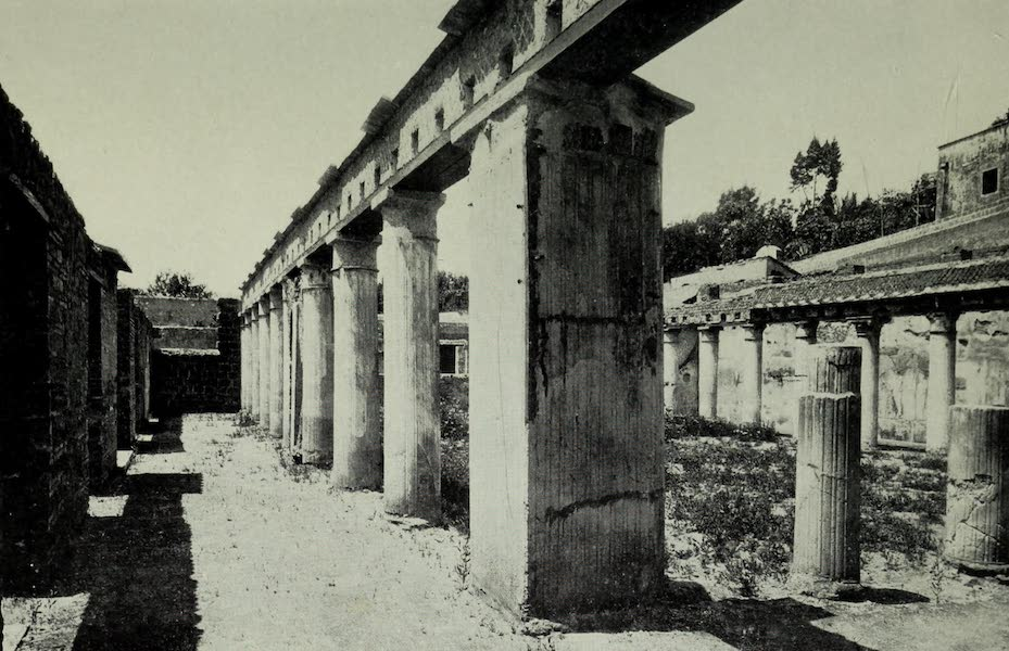 Buried Herculaneum - The House of Argus (1908)