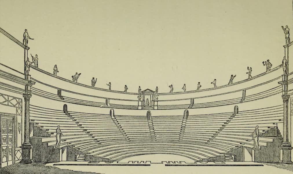 Buried Herculaneum - The Theatre restored (1908)
