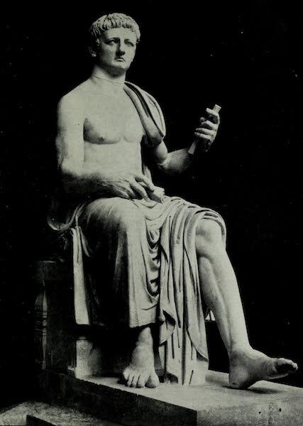 Buried Herculaneum - The Emperor Claudius (marble) (1908)