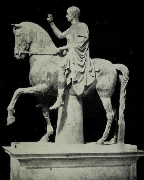 Buried Herculaneum - Marcus Nonius Balbus the elder (equestrian: marble) (1908)