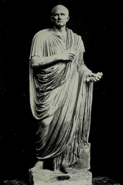 Buried Herculaneum - Marcus Nonius Balbus the elder (marble) (1908)