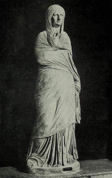 Buried Herculaneum - Vicira Mother of Balbus the younger (marble) (1908)