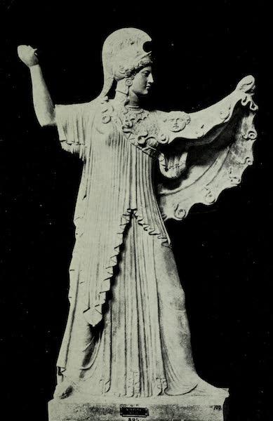 Buried Herculaneum - Archaistic Pallas (marble) (1908)