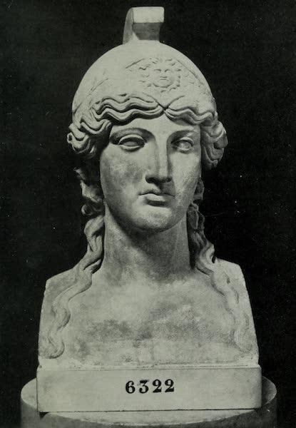 Buried Herculaneum - Athene Gorgolopha (marble) (1908)