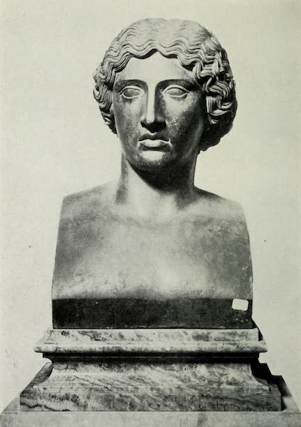 Buried Herculaneum - Head of an Amazon (1908)
