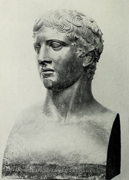 Buried Herculaneum - Head of the Doryphorus (1908)