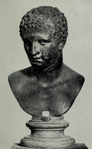 Buried Herculaneum - Head of a Youth (1908)