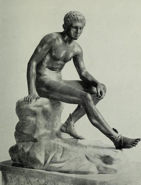 Buried Herculaneum - Mercury in repose (1908)