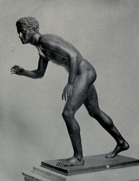 Buried Herculaneum - The Wrestler (companion to the last) (1908)
