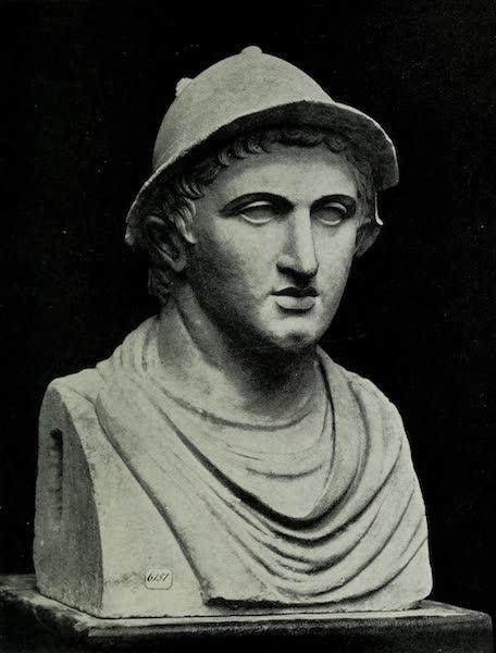 Buried Herculaneum - Warrior in a helmet (marble) (1908)