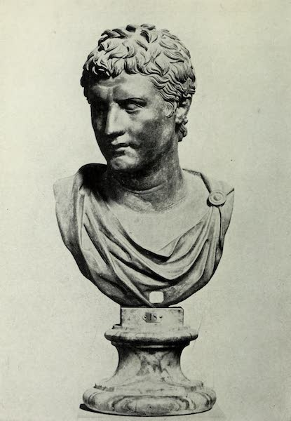 Buried Herculaneum - Bust with a chlamys (1908)