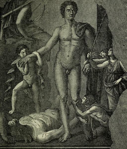 Buried Herculaneum - Theseus victorious over the Minotaur (1908)