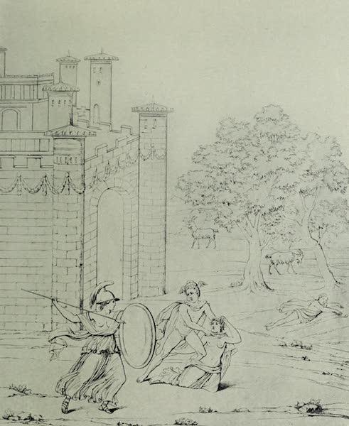 Buried Herculaneum - Perseus slaying Medusa (1908)