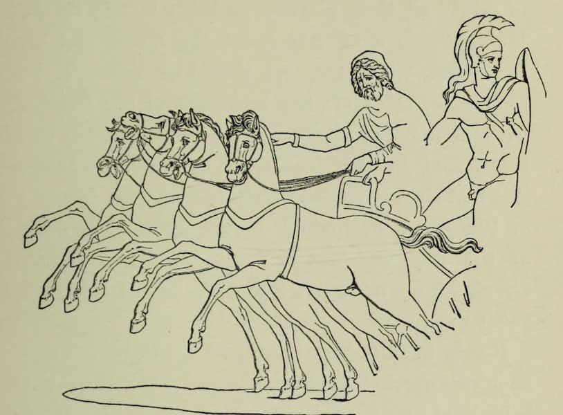 Buried Herculaneum - A Charioteer (monochrome) (1908)
