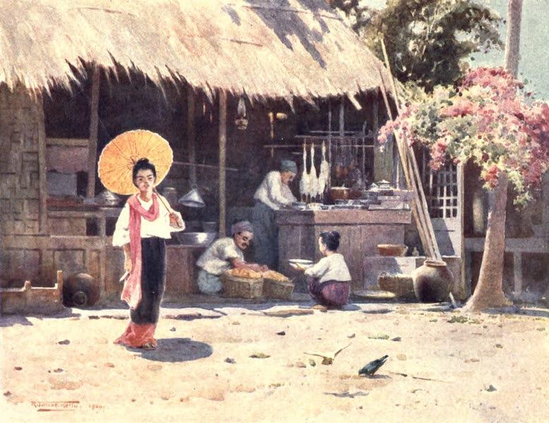 Burma, Painted and Described - A Village Shop (1905)