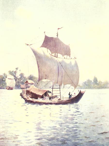 Burma, Painted and Described - Upstream with the Wind (1905)