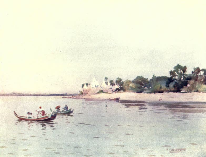 Burma, Painted and Described - Ava (1905)