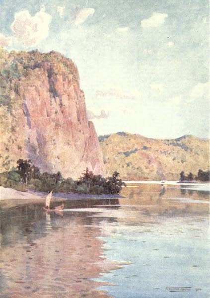 Burma, Painted and Described - In the Second Defile of the Irrawaddy (1905)