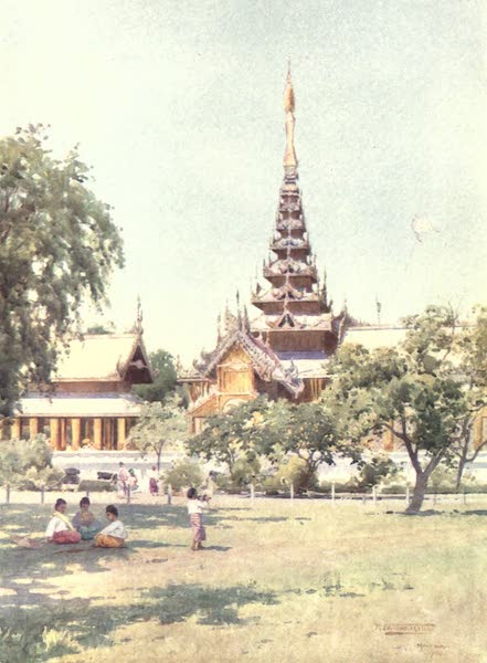 "Burma, Painted and Described - ""The Centre of the Universe"" - Mandalay (1905)"