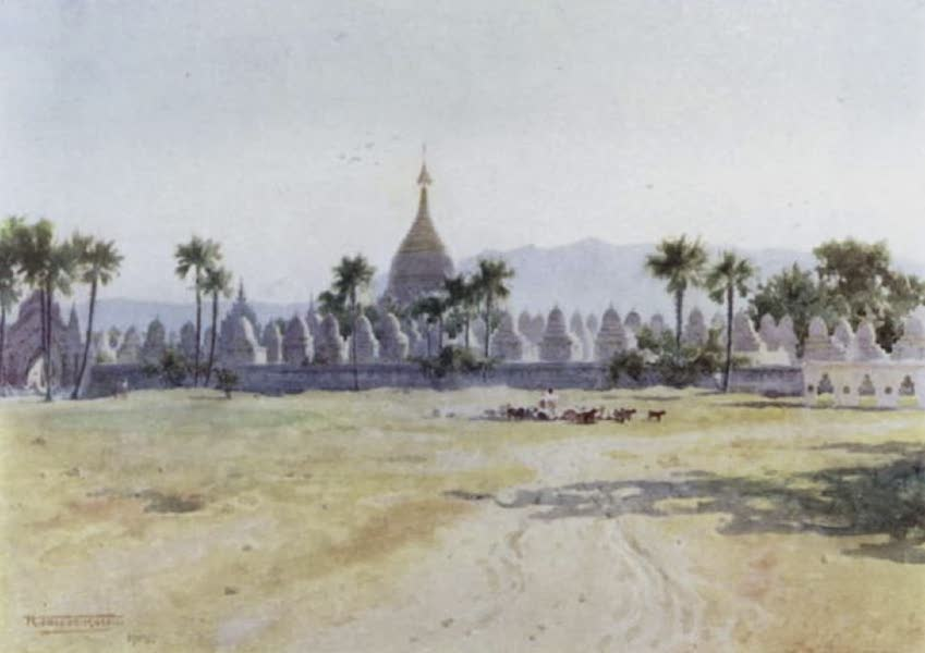 Burma, Painted and Described - The Kuthodau - Mandalay (1905)